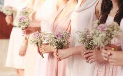 Escoger el vestido de las damas de honor
