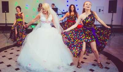 Un flash-mob para su boda